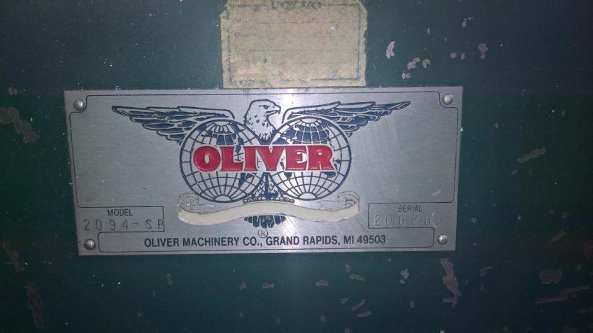 Alu-Kreissäge Oliver Machinery 2094-SP zu verkaufen