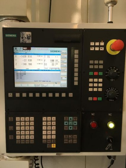 Machining center table load 1,5t Knuth X-Mill 1500 CNC milling machine for sale