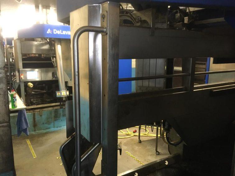 5x DeLaval milking robot, milking system, built in 2014 for sale