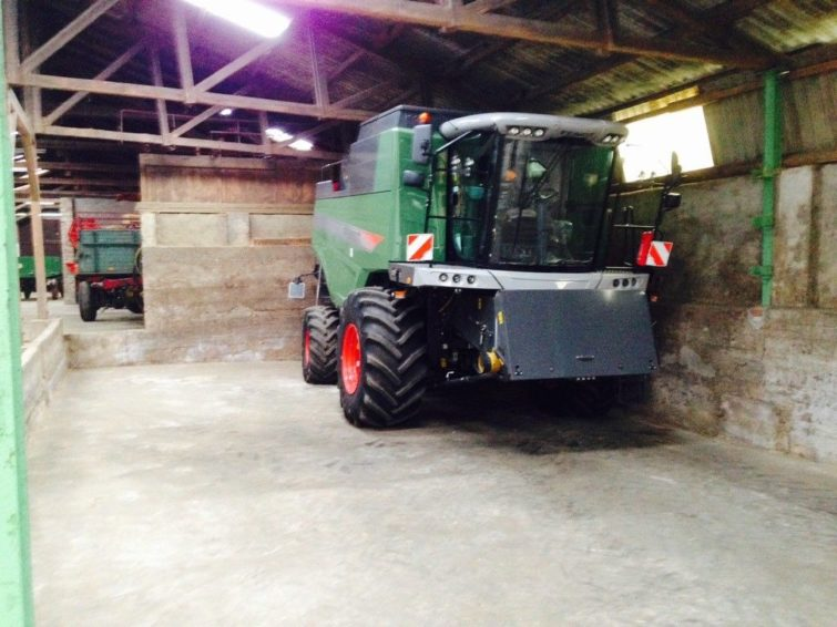 Fendt 5255L MCS harvester for sale