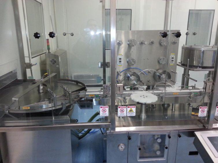 SNOWBELL PVFB 240 Pulverbefüll- und Verschließlinie für Fläschchen 10 ml zu verkaufen