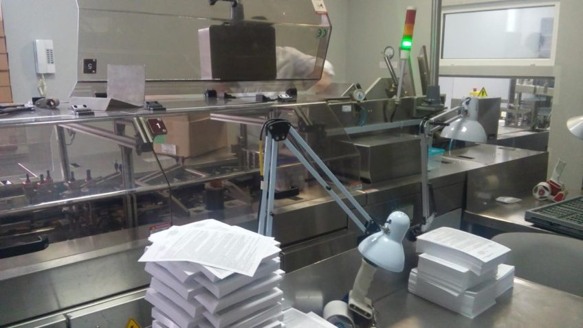 ACG PamPac Machines Cartoblis Blister Packaging Line for tablets and capsules for sale