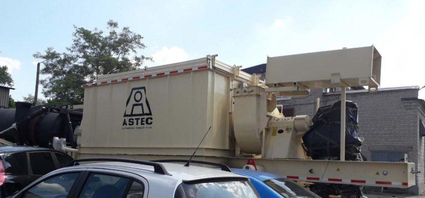 ASTEC Асфальтобетонный завод VOYAGER 120 NEW В комплекте с лабораторным оборудованием, системой битумной пены GP 3.0 в продаже