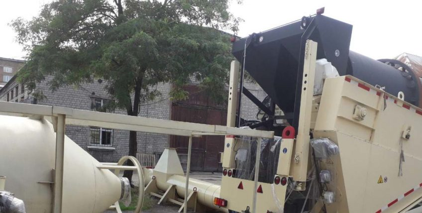 ASTEC asphalt concrete plant VOYAGER 120 NEW Complete with