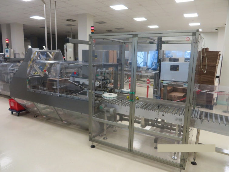Automatic Case Packer Packservice PS 510 group packaging machine Marchesini Group for sale