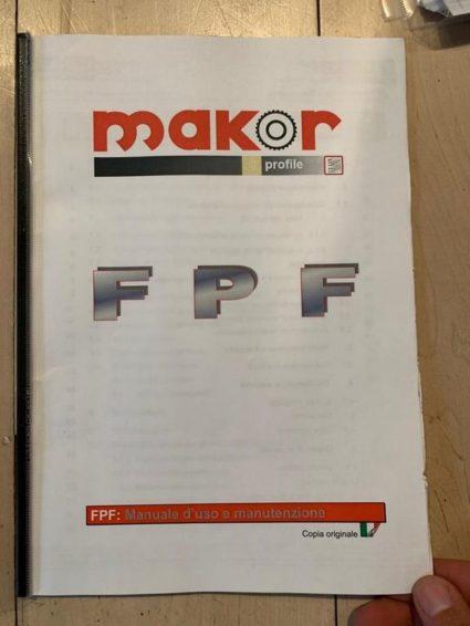 Makor FPF profile line dryer floor dryer performance dryer lumber dryer zu verkaufen