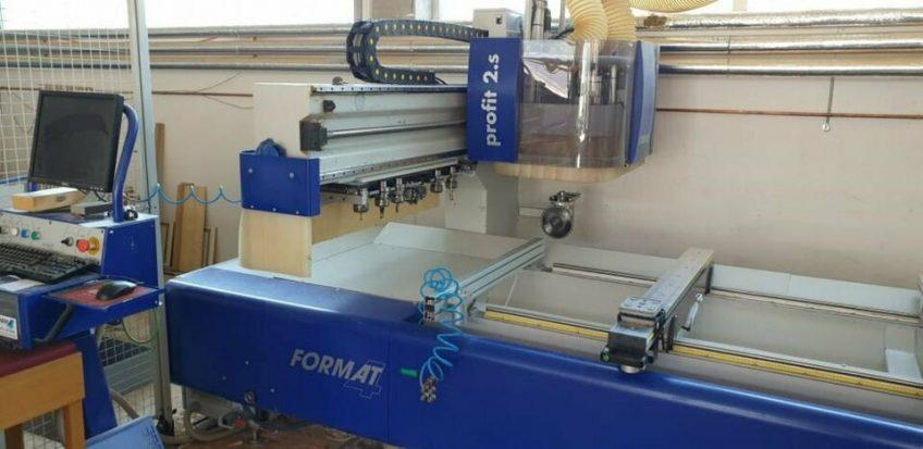 CNC machining center format 4 CNC Profit 2s zu verkaufen