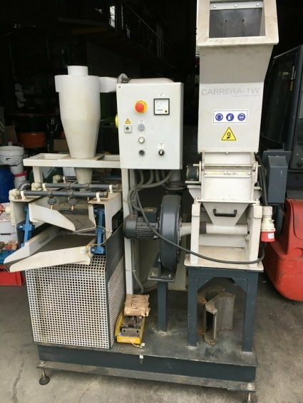 ICS-CONTEC CARRERA Cable Recycling Cable granule insertion Cable shredder for sale