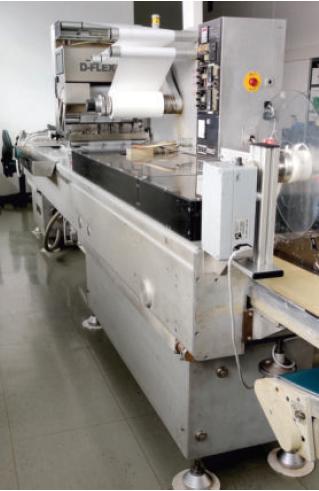 Dixie Modular packaging machine PA/PE film packaging / paper packaging zu verkaufen