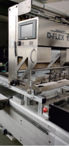 Dixie Modular packaging machine PA/PE film packaging / paper packaging for sale