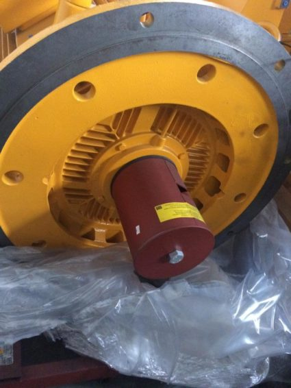 Промышленный двигатель Мотор WEG HGF 630 кВт 4P 400C / D / E в продаже